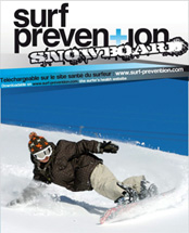 Guide surf pévention Snowboard